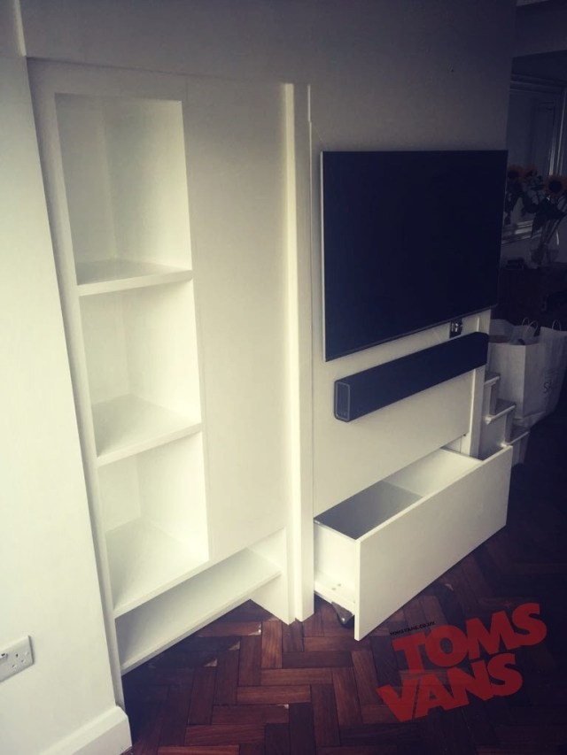 Tom's Vans Bespoke Carpentry and fitted furniture Brighton