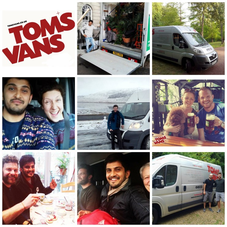 Tom's Vans Remvoals - Your Local Friendly professional removals and delivery service