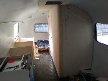 Airstream Interior Ausbau Küche