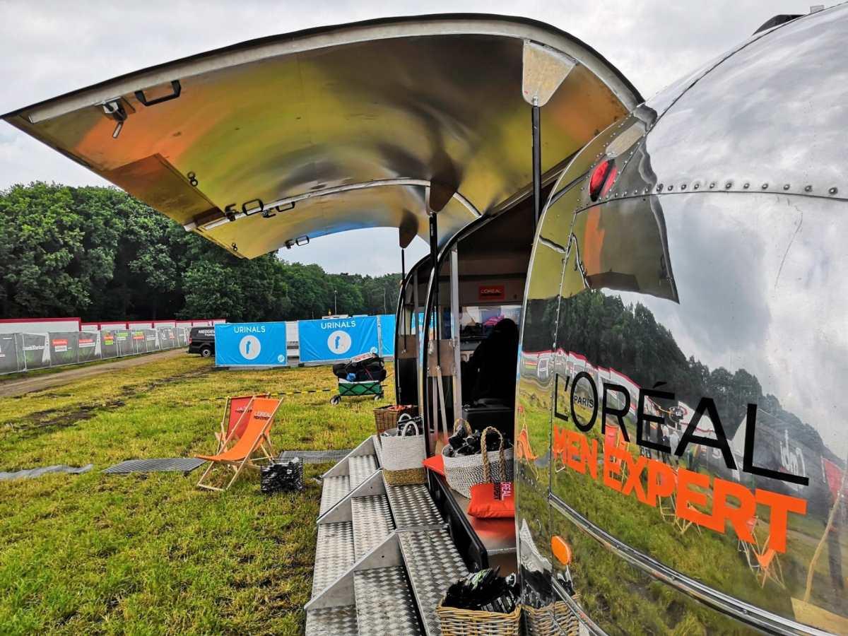 Airstream Mobile Stage Vermietung Hurricane Festival