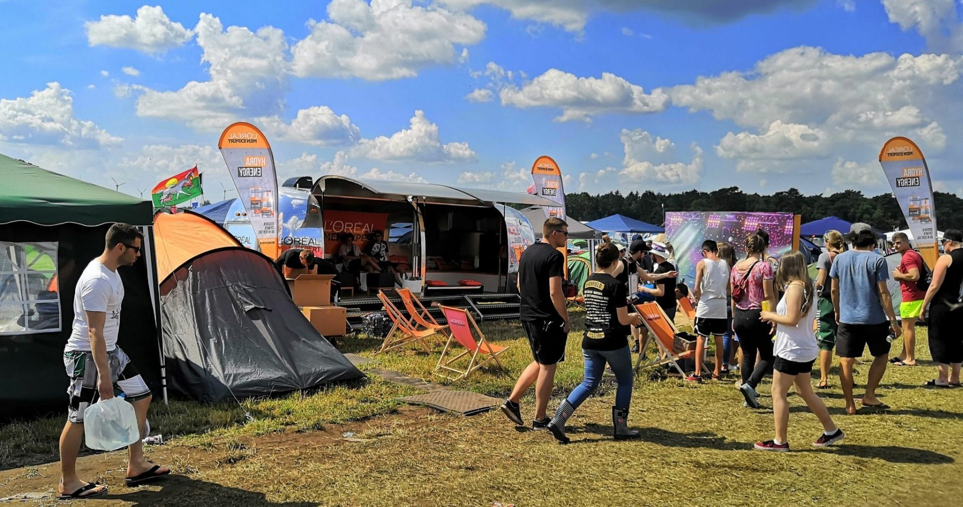 Airstream Mobile Stage Vermietung Hurricane Festival Anreise