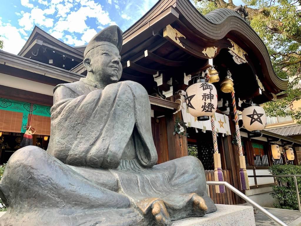晴明神社の安倍晴明像