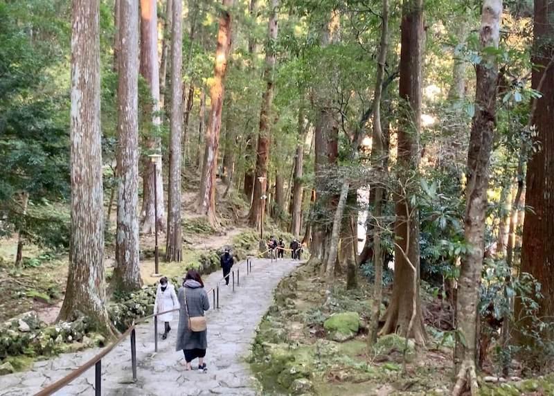那智の滝への参道
