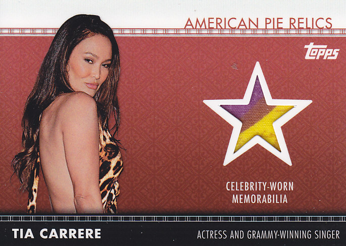 2011 American Pie box break (5/6)