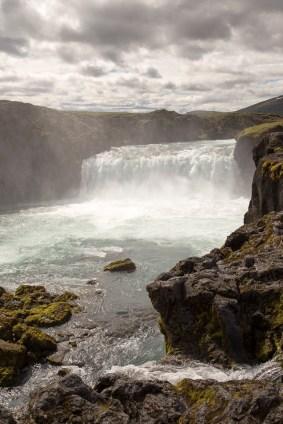 Godofoss waterfall