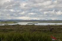 Lake Myrvaten scenery