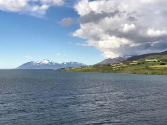 Akureyri sailout. Look at the sunshine