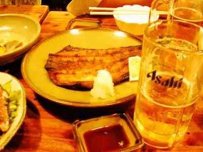 海外の人-日本食-ほっけ