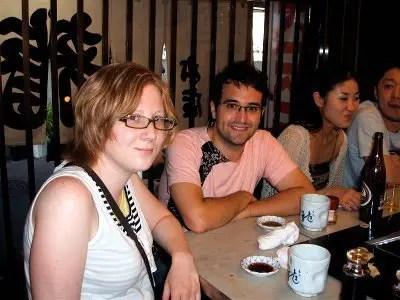 欧米人-日本旅行-築地市場-朝食