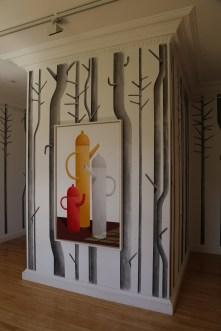 Inverleith House Gallery on the grounds of the Royal Botanic Gardens, Edinburgh.