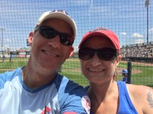 Tom and Wendy at Principal Park.