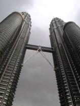 Patronas Towers, van dichtbij