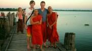 Broeders @ U-Bein Bridge Myanmar