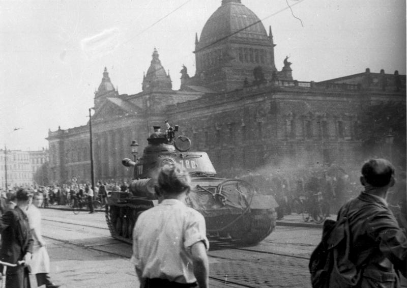 Russisch antwoord op volksopstand in de DDR