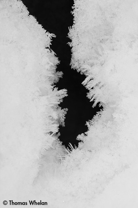 Crystal crevice