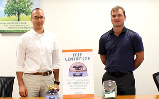 Announcing the Winner of the Multi Spin Centrifuge!