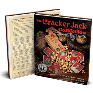 Cracker Jack Players Collection - Award-Winning Baseball Collectors Book