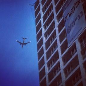 Plane in Tel Aviv