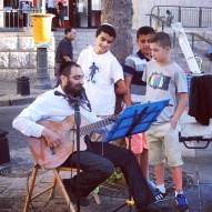 Street Musician in Jerusalem