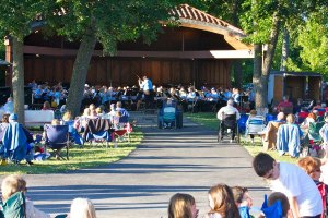 Crystal Lake Community Band concert, June 12, 2012