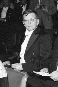 Photo of Dmitri Shostakovich (1958)