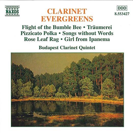 Clarinet Evergreens cover art