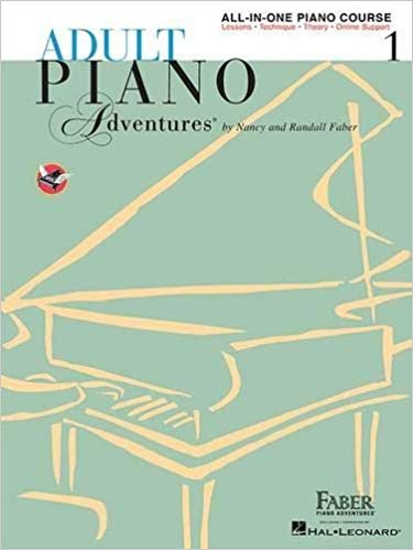 Faber Adult Piano Book1 cover art
