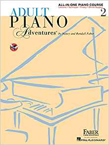 Faber Adult Piano book 2 cover art