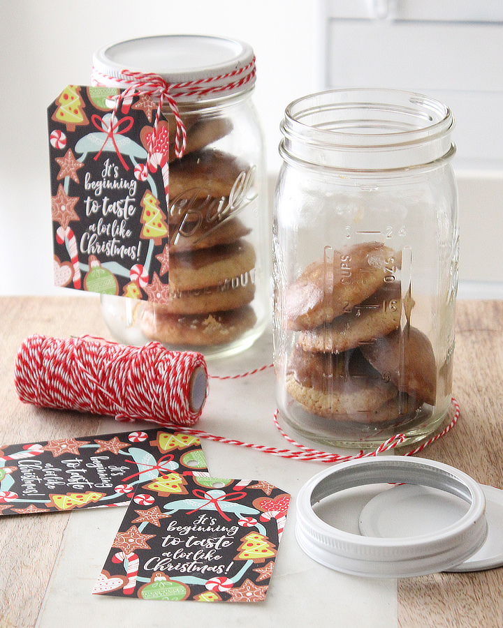 Free Christmas Baking Gift Tag: Print-it-Yourself Printable Download