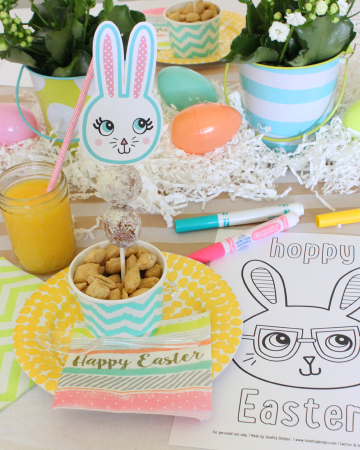 FREE Easter Bunny Printables | Via Tonality Designs