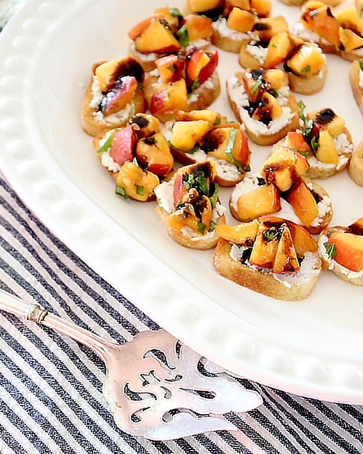 Peach Bruschetta Recipe