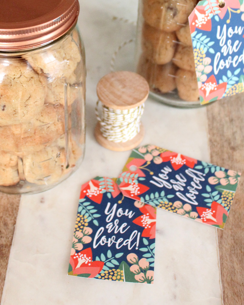 Gift Tag Printable: You Are Loved Print-It-Yourself FREE PDF File