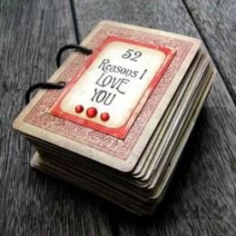 priežastys mylėti