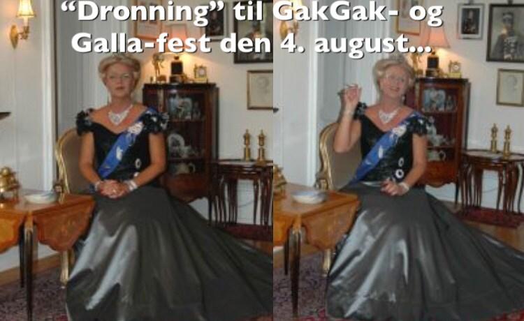 GakGak- og Galla-fest på gågaden – lørdag den 4. august 2018