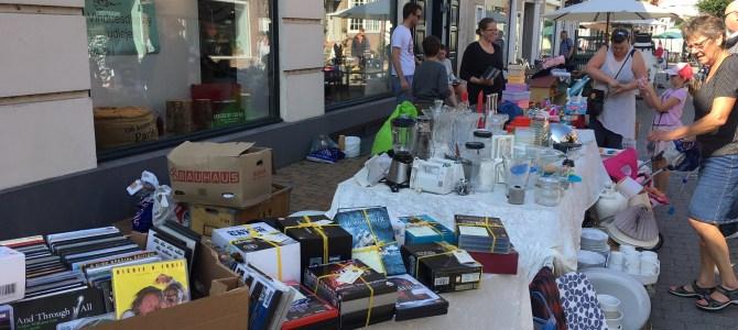 Kom til Gågademarked både fredag og lørdag i Tønder – se videoklip fra fredag formiddag