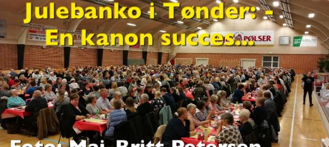 Julebyen Tønder: Julebanko 2018 blev en kanon succes…