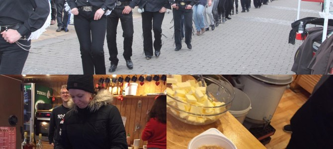 Julebyen Tønder: Linedance og gratis risengrød
