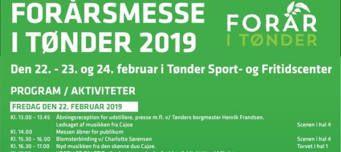 Så er Forårsmessen åbnet i Tønder – se programmet her