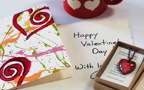 Cassandra Tondro Valentine Jewelry and Cards