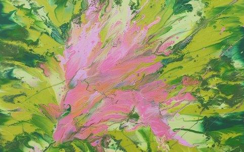 Cassandra Tondro heart chakra painting