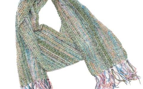 Cassandra Tondro handwoven scarf
