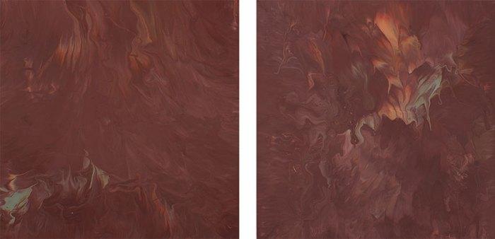 "Cassandra Tondro, ""Whispered Wisdom,"" minimalist painting"