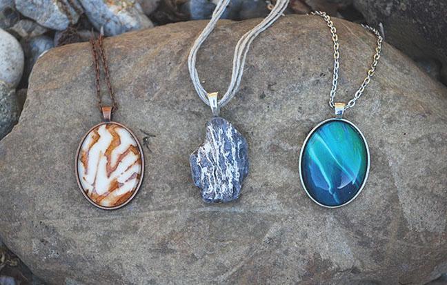 Casssandra Tondro necklaces