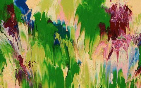 "Cassandra Tondro, ""Meltdown,"" abstract painting"