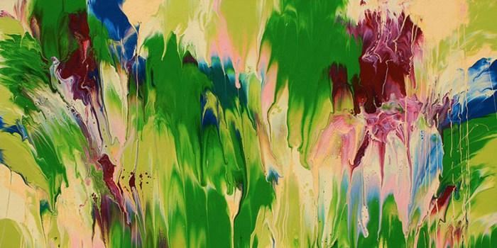 """Cassandra Tondro, """"Meltdown,"""" abstract painting"""