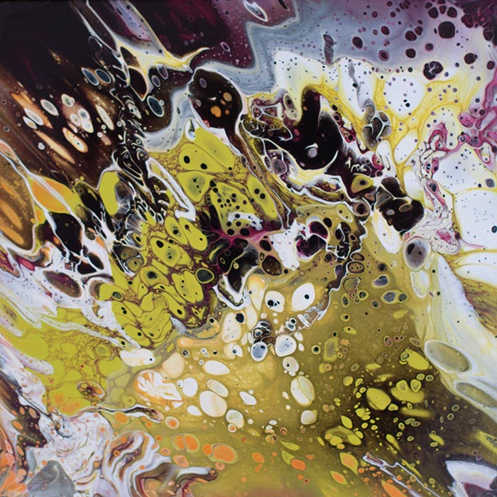 Cassandra Tondro poured painting