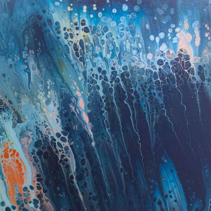 """Cassandra Tondro, """"Rising Tide,"""" abstract art"""