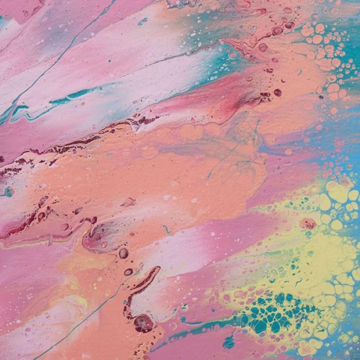 """Cassandra Tondro, """"Spark Joy,"""" contemporary painting"""