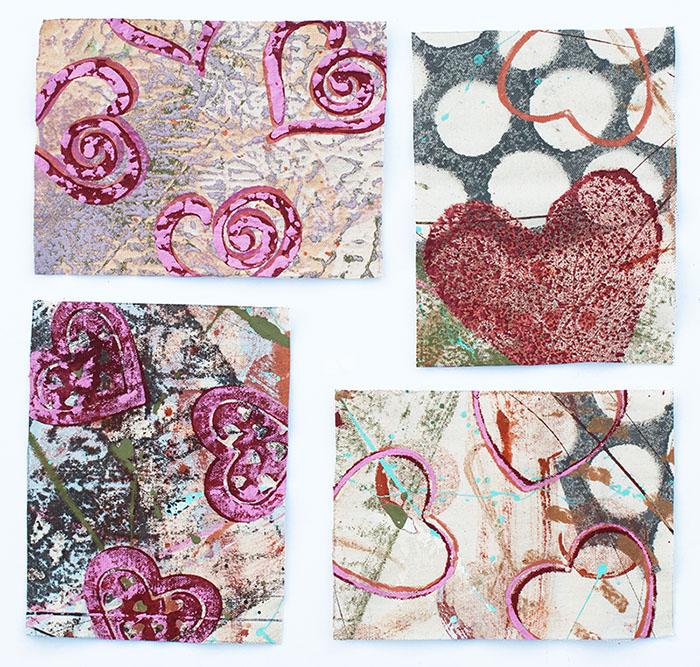 Cassandra Tondro Valentine's art