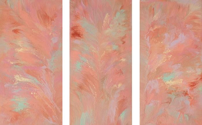 "Cassandra Tondro, ""Never Never Land,"" original painting"